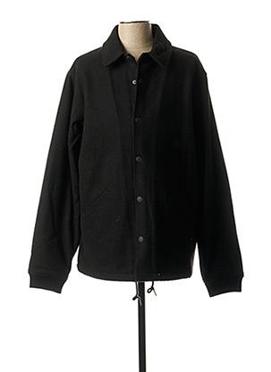 Manteau court noir DEUS EX MACHINA pour homme