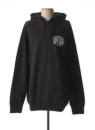 Sweat-shirt noir DEUS EX MACHINA pour homme