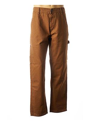 Jeans coupe droite marron LEE pour homme