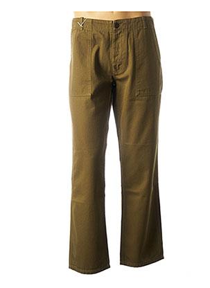 Pantalon casual vert EAT DUST pour homme