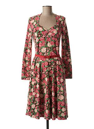 Robe mi-longue rose FAIRWEAR pour femme