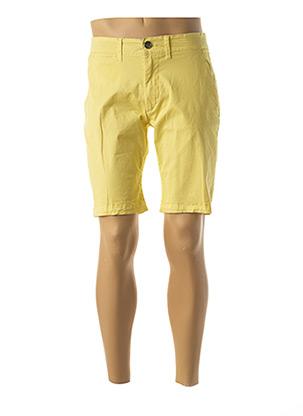 Bermuda jaune PEPE JEANS pour homme