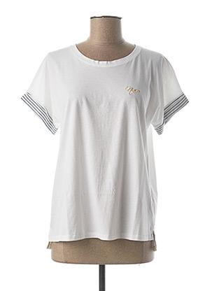 T-shirt manches courtes blanc ASTORE pour femme