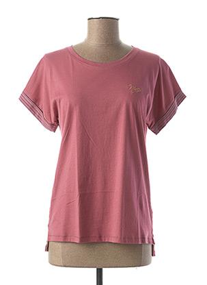 T-shirt manches courtes rose ASTORE pour femme