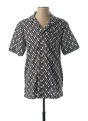 Chemise manches courtes noir LEE COOPER pour homme