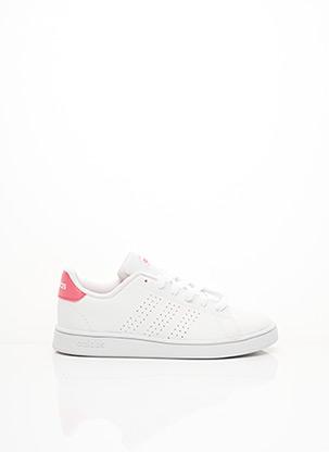 Baskets blanc ADIDAS pour fille