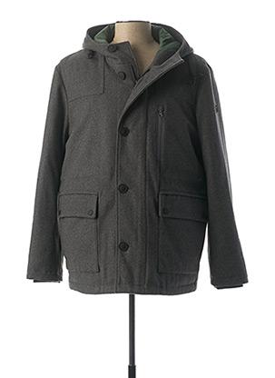 Manteau court gris FYNCH-HATTON pour homme