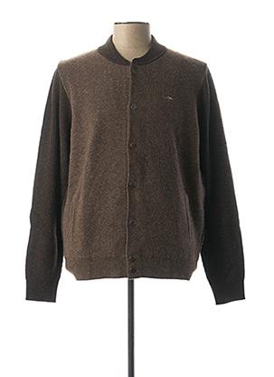 Veste casual marron FYNCH-HATTON pour homme