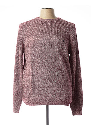 Pull col rond violet FYNCH-HATTON pour homme
