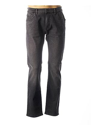 Jeans coupe droite gris FYNCH-HATTON pour homme