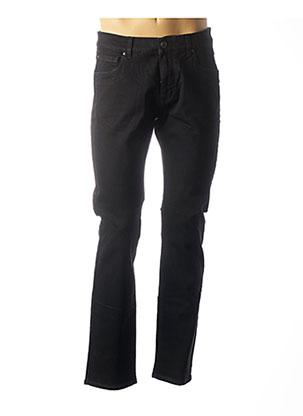 Jeans coupe droite noir FYNCH-HATTON pour homme