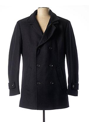 Manteau long bleu FYNCH-HATTON pour homme
