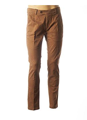 Pantalon casual marron FYNCH-HATTON pour homme