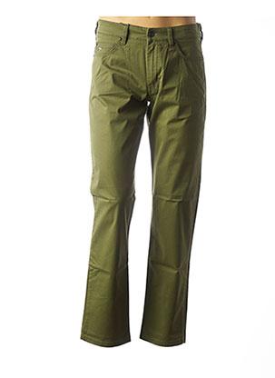 Pantalon casual vert FYNCH-HATTON pour homme
