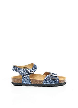 Sandales/Nu pieds bleu REQINS pour fille