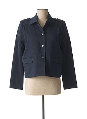 Veste casual bleu LOLA ESPELETA pour femme