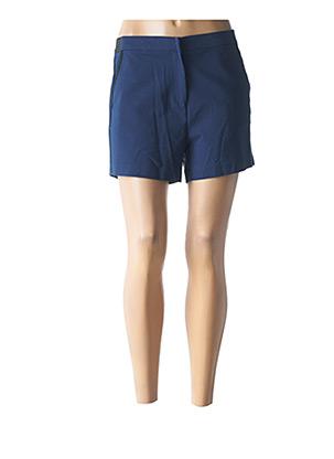 Short bleu LOLA ESPELETA pour femme