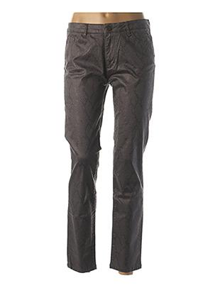 Pantalon casual gris MAYJUNE pour femme