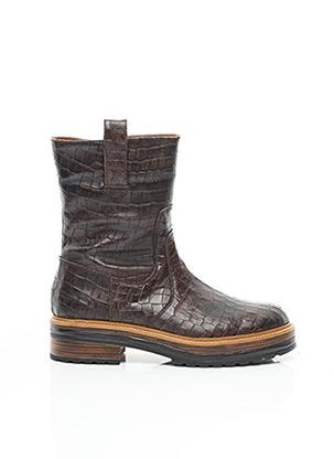 Bottines/Boots marron PONS QUITANA pour femme