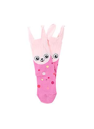 Chaussettes rose KINDY pour fille