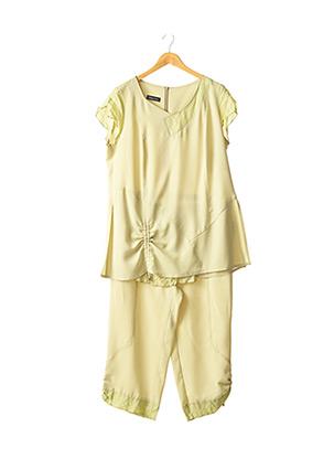 Top/pantalon vert CHRISTIAN MARRY pour femme