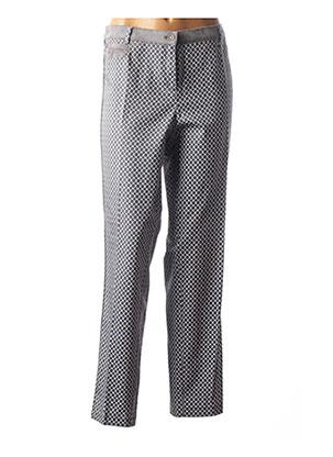 Pantalon casual gris FRANK WALDER pour femme
