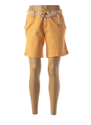 Short orange C'EST BEAU LA VIE pour femme