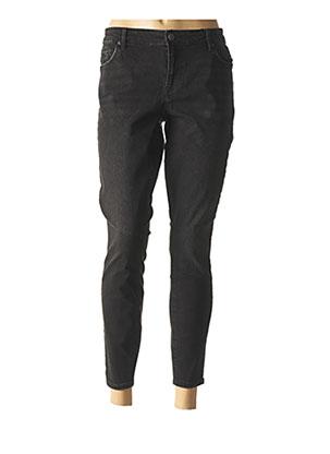 Jeans skinny noir VERO MODA pour femme