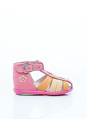 Mules/Sabots rose BOPY pour fille
