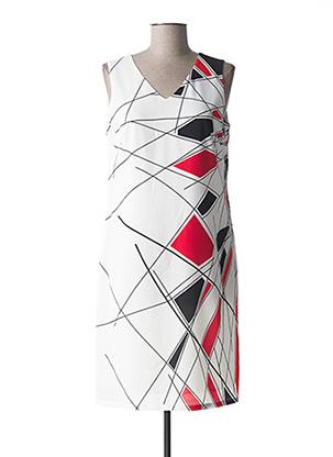 Robe mi-longue blanc MERI & ESCA pour femme