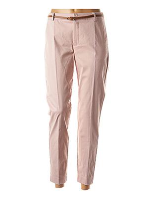 Pantalon 7/8 rose B.YOUNG pour femme