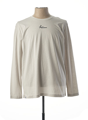 T-shirt manches longues gris ADISHATZ pour homme