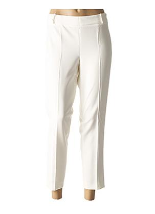Pantalon casual blanc KOCCA pour femme