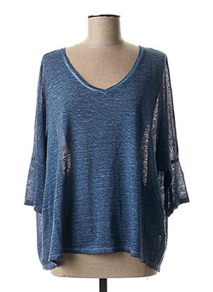 T-shirt manches longues bleu GERARD DAREL pour femme