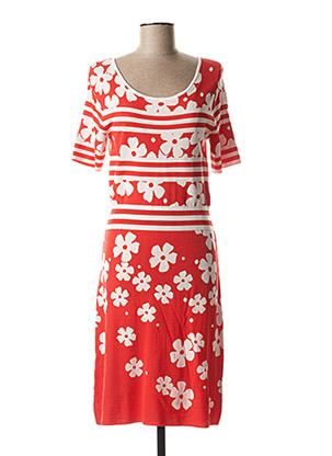 Robe pull rouge CAROLINE BISS pour femme