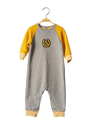 Pyjama gris PETIT BATEAU pour garçon
