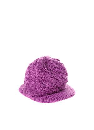 Casquette violet STERNTALER pour fille
