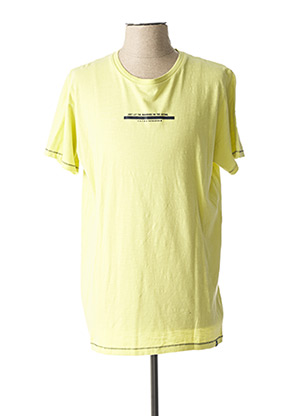 T-shirt manches courtes vert DSTREZZED pour homme