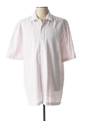 Chemise manches courtes blanc SCOTCH & SODA pour homme