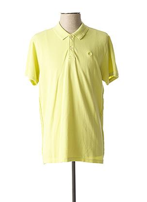 Polo manches courtes vert DSTREZZED pour homme