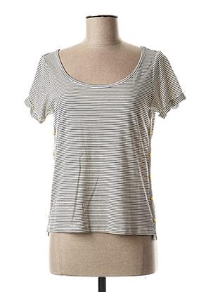 T-shirt manches courtes noir LOLA ESPELETA pour femme