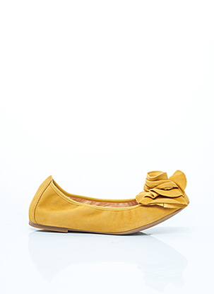 Ballerines jaune UNISA pour femme