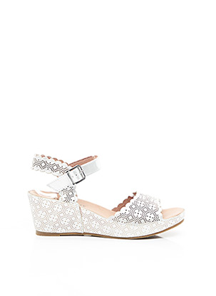 Sandales/Nu pieds gris MAM'ZELLE pour femme