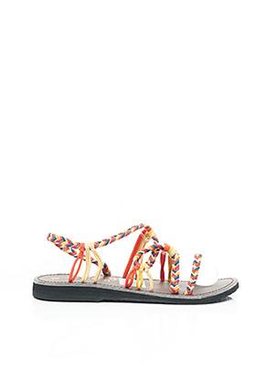 Sandales/Nu pieds rose LA MARINE pour femme