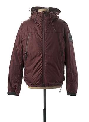 Doudoune rouge OUTHERE pour homme