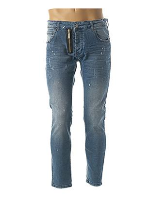 Jeans coupe slim bleu UNIPLAY pour homme