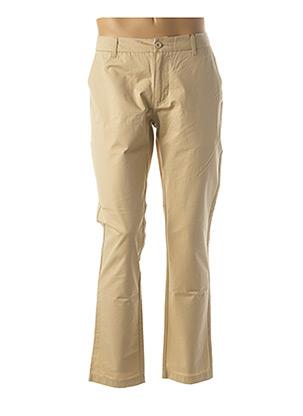 Pantalon casual beige LA PANOPLIE pour homme