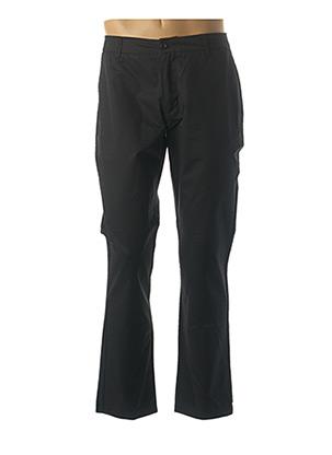 Pantalon casual noir LA PANOPLIE pour homme