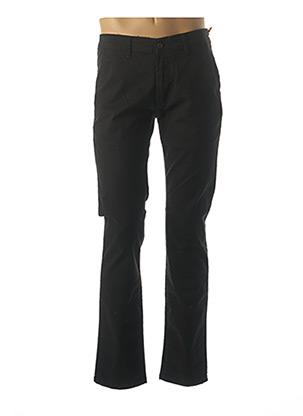 Pantalon casual noir LEEYO pour homme