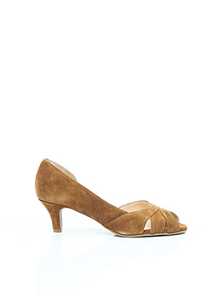 Sandales/Nu pieds marron BRENDA ZARO pour femme